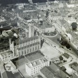 Duffner Bros., Aerial View I (St. Patrick's Cathedral and Town Hall), 1949, photographic print, 170 x 118cm