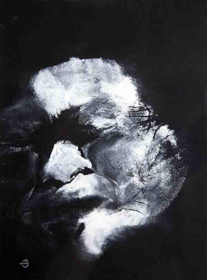 Elaine Griffin, Untitled, 2004, Monoprint on paper, 43 x 52cm