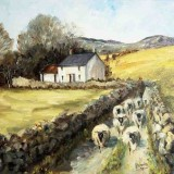 Irene Woods, Jenkinstown, 1999, oil on canvas, 43.5 x 48.5cm