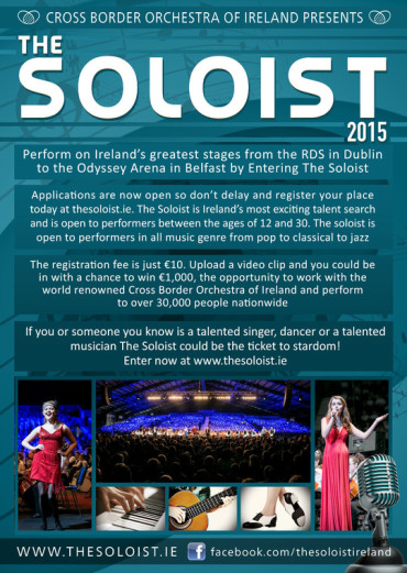 The Soloist Applications Now Open