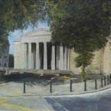 Ann Farrelly, Dundalk Courthouse, 1999, oil on canvas, 92 x 72cm